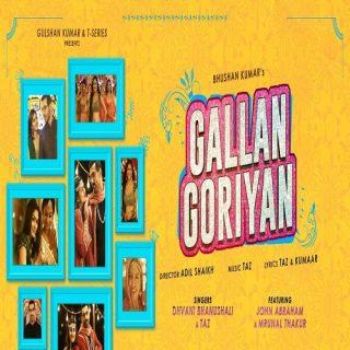 Gallan Goriyan Song - Dhvani Bhanushali | John Abraham