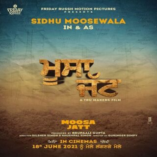 Moosa Jatt Movie (2021) - Sidhu Moose Wala